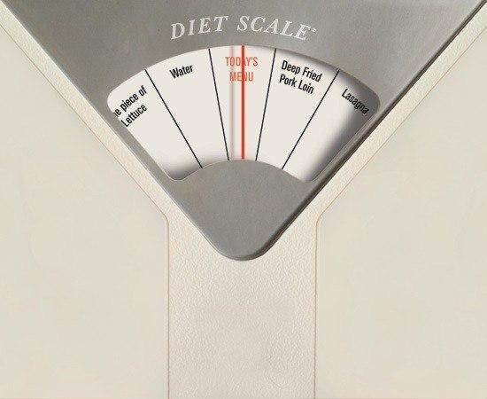 Необычные весы подсказывают нужную диету!