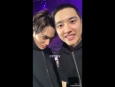180319 EXO's Kai and D.O @ pxnrsy twitter update