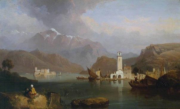 СТЭНФИЛД КЛАРКСОН ФРЕДЕРИК. МАРИНИСТ. Стэнфилд Кларксон Фредерик (3 декабря 1793 - 18 мая 1867) известный английский художник-маринист.Стэнфилд родился в Сандерленде, сын Джеймса Станфилда,
