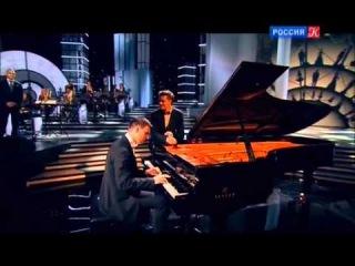 Новоорлеанский оркестр (дир. Ирвин Мэйфилд), Григорий Паламарчук и Алексей Чернаков - Some Day My Prince Will Come (25.05.2013)
