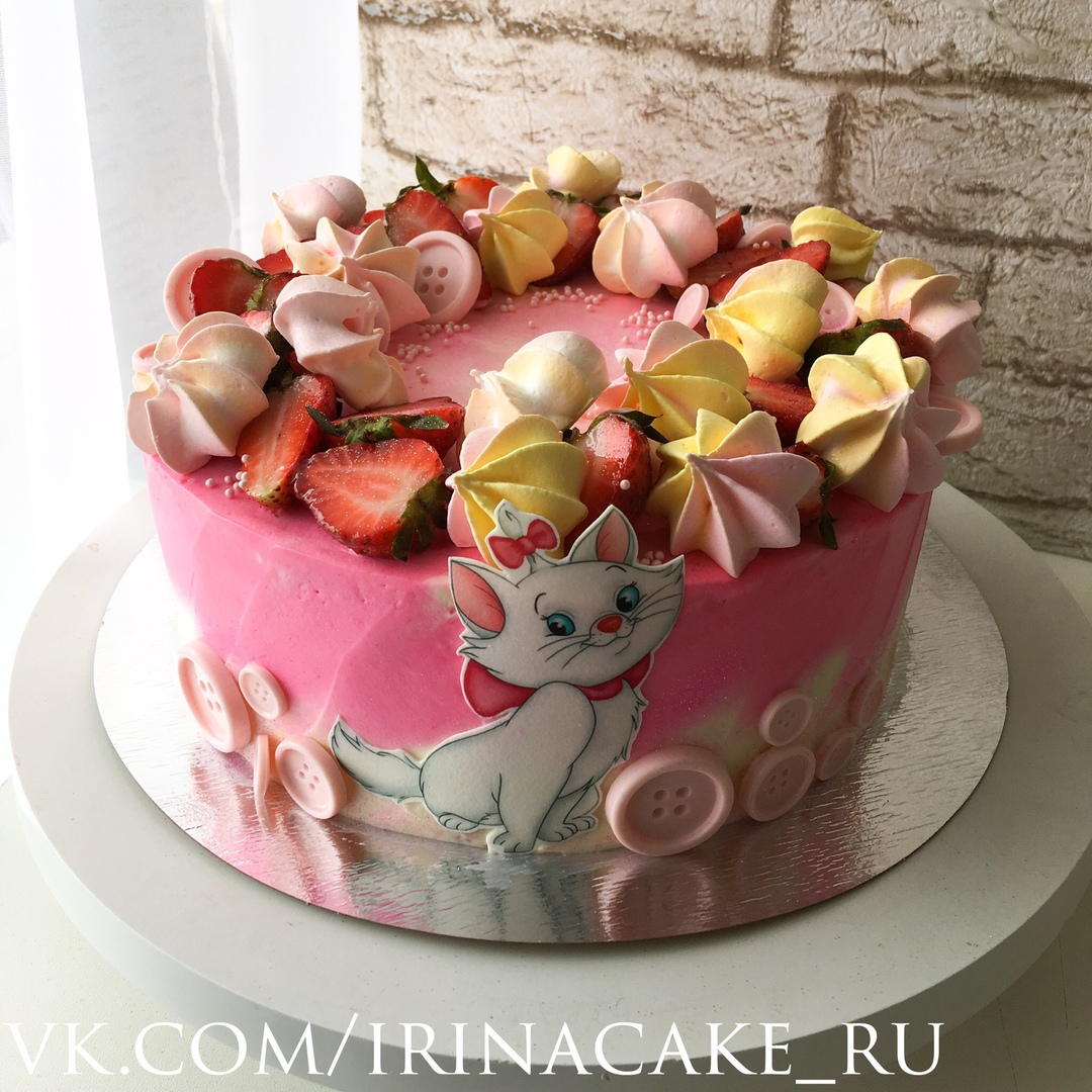 Торт для девочки (Арт. 451)