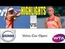 Jelena Ostapenko vs Johanna Larsson Highlights HD | 2019 Volvo Car Open (Charleston)
