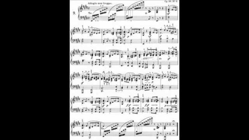Barenboim plays Mendelssohn Songs Without Words Op.30 no.3 in E Major