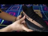 Обзор #1 - Adidas Yeezy Boost 350 black/gold