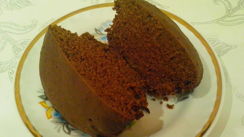 Как приготовить за 3 минуты шоколадный кекс в микроволновке . Рецепт быстрой выпечки к чаю. Бисквит