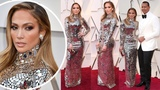 Oscars 2019 Jennifer Lopez stuns in Tom Ford gown at Academy Awards