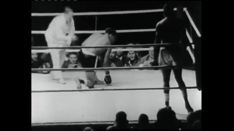 Сонни Листон vs Амос Джонсон (лучшие моменты) [19.08.1966]