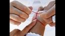 Красная нить - сильный оберег от порчи ,сглаза и энерговампиров .