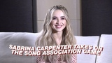 Sabrina Carpenter Takes On The Song Association Challenge! TEENAGE
