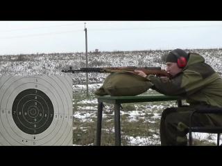 СВТ-40 стрельба на 100 метров