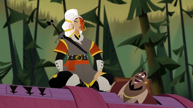 S02E04 Rapunzel's Tangled Adventure Forest of No Return