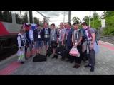 Воспитанники Карельского кадетского корпуса вернулись с матча Россия-Египет