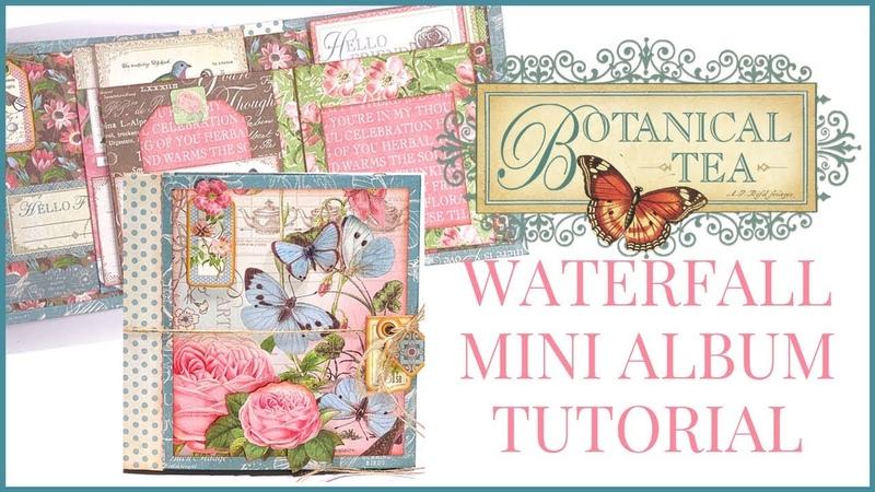 [TUTORIAL] Waterfall Mini Album: Club G45 Vol 4 Featuring Botanical Tea