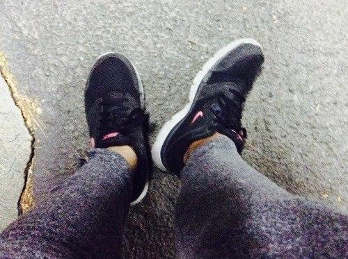Обувь после тренировки
