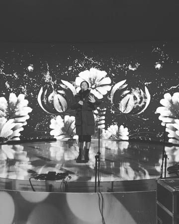 "ZLATA OGNEVICH on Instagram: ""Вона лине з карпатськіх гір... . українськамузика canto singing musica singer zlataognevich мелодія скорик"""