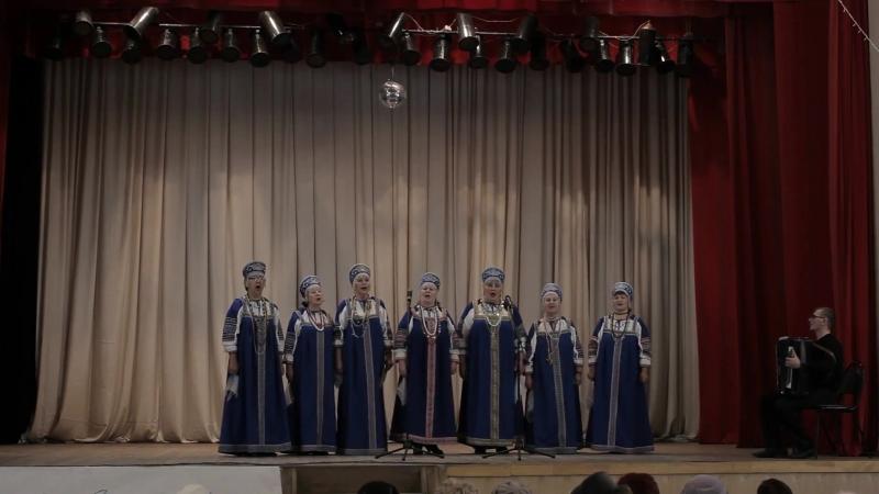 Синеглазая Россияночка - Хор Ветеран. ДК г. Невель