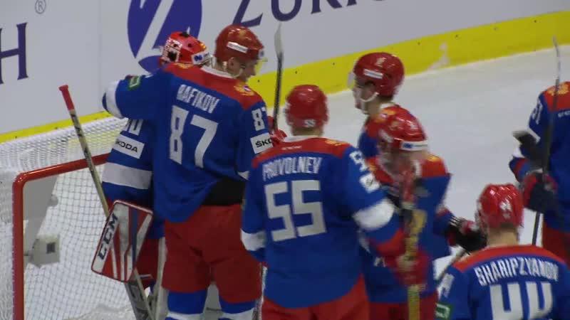 Кубок Люцерна. Россия (олимп.) —Словакия (2:1)