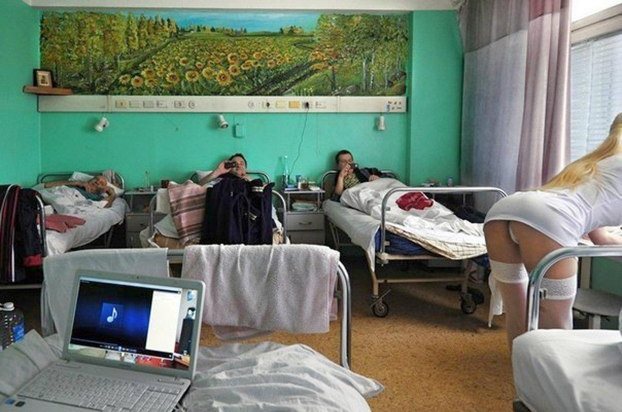 Секс с медсестрой в поликлинике 1 фотография