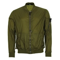 8f94999f МУЖСКАЯ КУРТКА БОМБЕР STONE ISLAND SHADOW PROJECT SHEER VENT LUCID NYLON  OLIVE