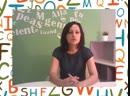 Слушайте, как говорит учитель нашего языкового центра на преподаваемом языке