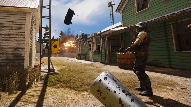 Far Cry 5 stealth Outpost Liberations 4k 60Fps