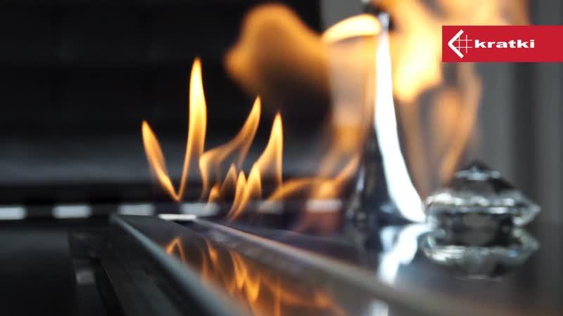 Биоконтейнер AF 930 mm – уникальный вид огня