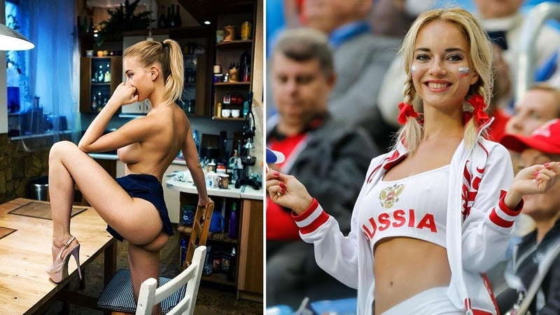 Russia's hottest World Cup fan revealed to be a ADULT MOVIE STAR