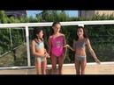 GEMELUCHIS Retos en la piscina
