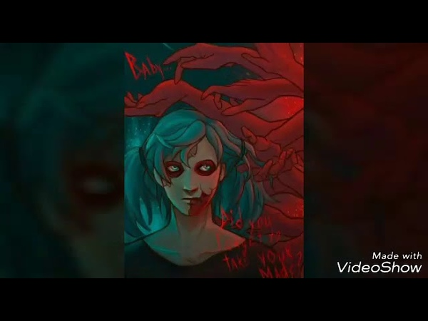 Sally face ☠️ amv (I dont wanna die, some pictures will hold self harm you have been warned!)