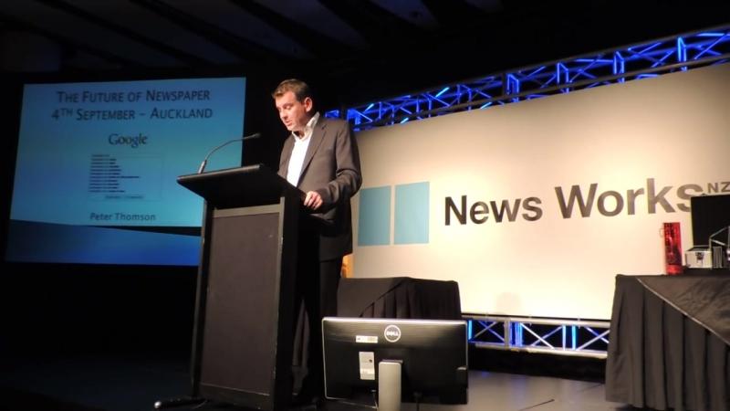 UK Media Guru Peter Thomson predicts the Future of Newspapers