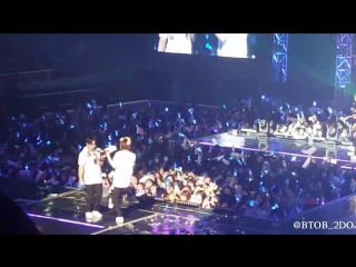 [fancam] 27.03.2016: btob - 2nd confession @ born to beat time encore