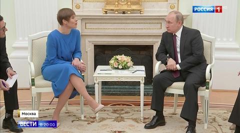 Визит в Москву стал непростым шагом для главы Эстонии