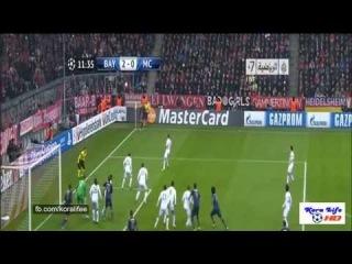 Бавария - Манчестер Сити 2:3.Лига чемпионов УЕФА 2013-2014,6-й тур.Обзор матча HD