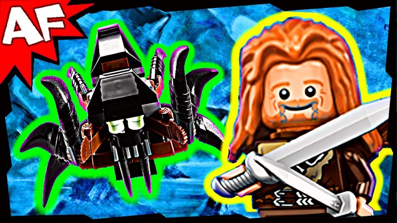 ESCAPE from MIRKWOOD SPIDERS 79001 Lego the Hobbit Animated Review An Unexpected Journey
