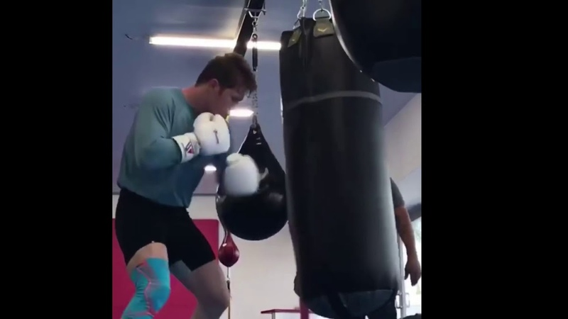 CANELO ÁLVAREZ WORKING ON MONSTER BODY SHOTS FOR GENNADY GOLOVKIN, DETERMINED TO KNOCK HIM OUT