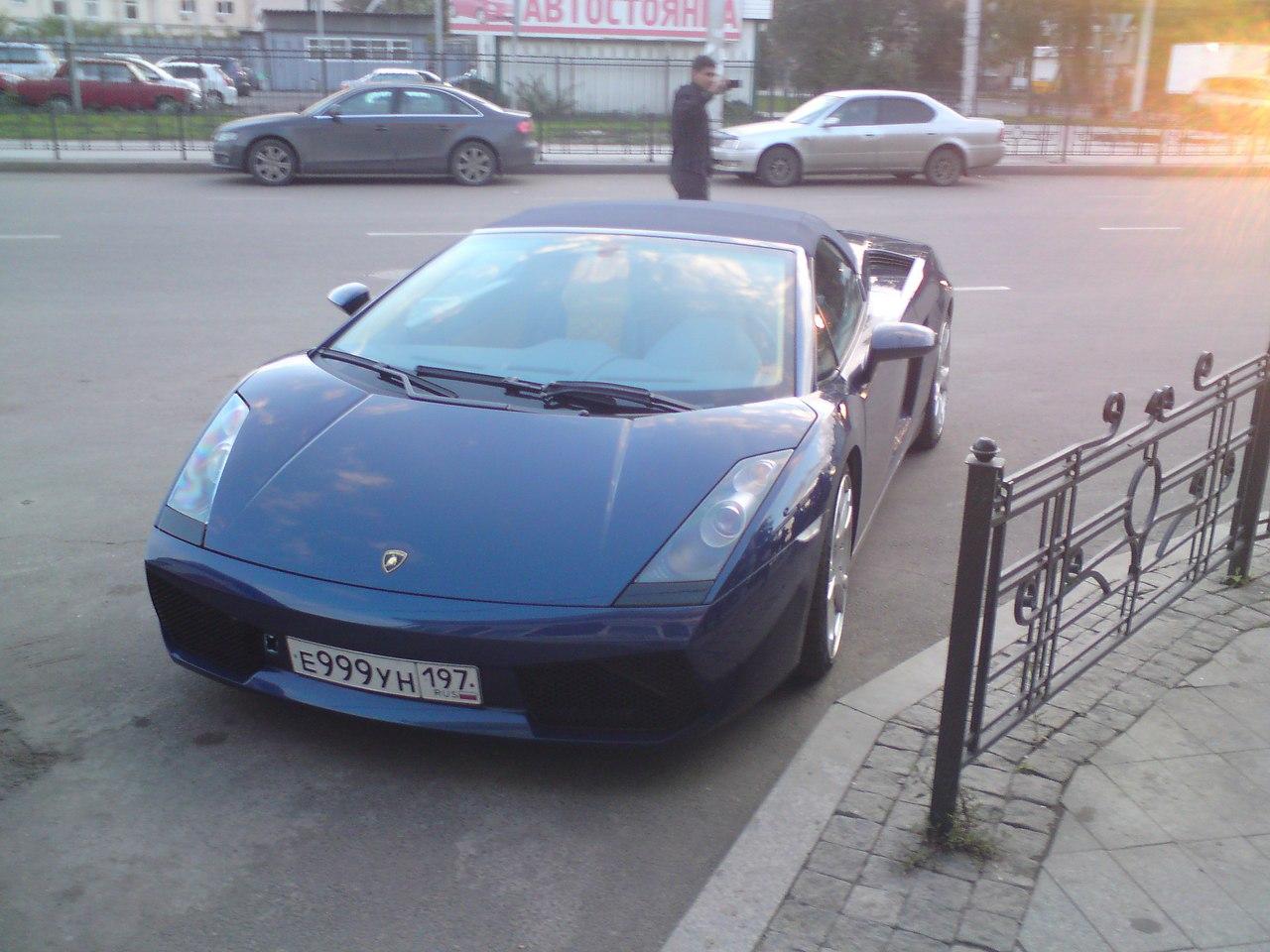ламборджини в иркутске фото