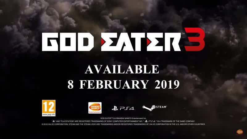God Eater 3 Story Trailer