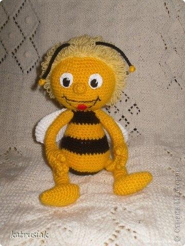 Нужна схемка крючком пчелы