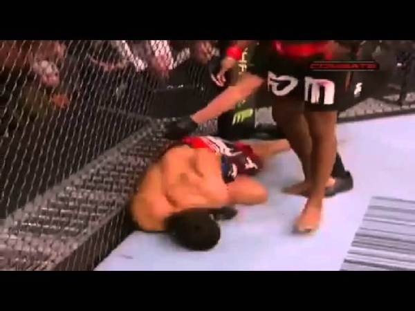 UFC - Jon Jones Drops Lyoto Machida like a bad habit