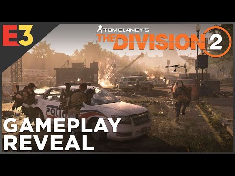 The Division 2 GAMEPLAY REVEAL! Sharpshooter Demolitionist: First Looks | Polygon @ E3 2018