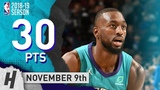Kemba Walker Full Highlights Hornets vs 76ers 2018.11.09 - 30 Pts, 9 Ast, 7 Rebounds!