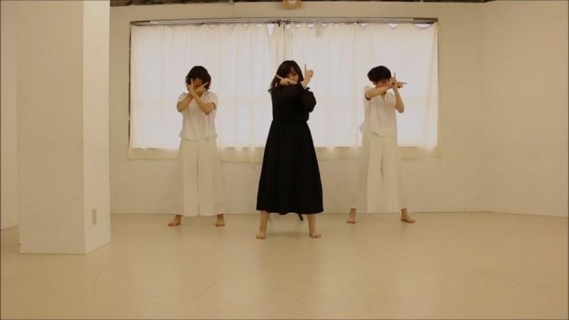 【オリジナル振付】ガランド 踊ってみた【ぴよゆきべー】 sm33355369