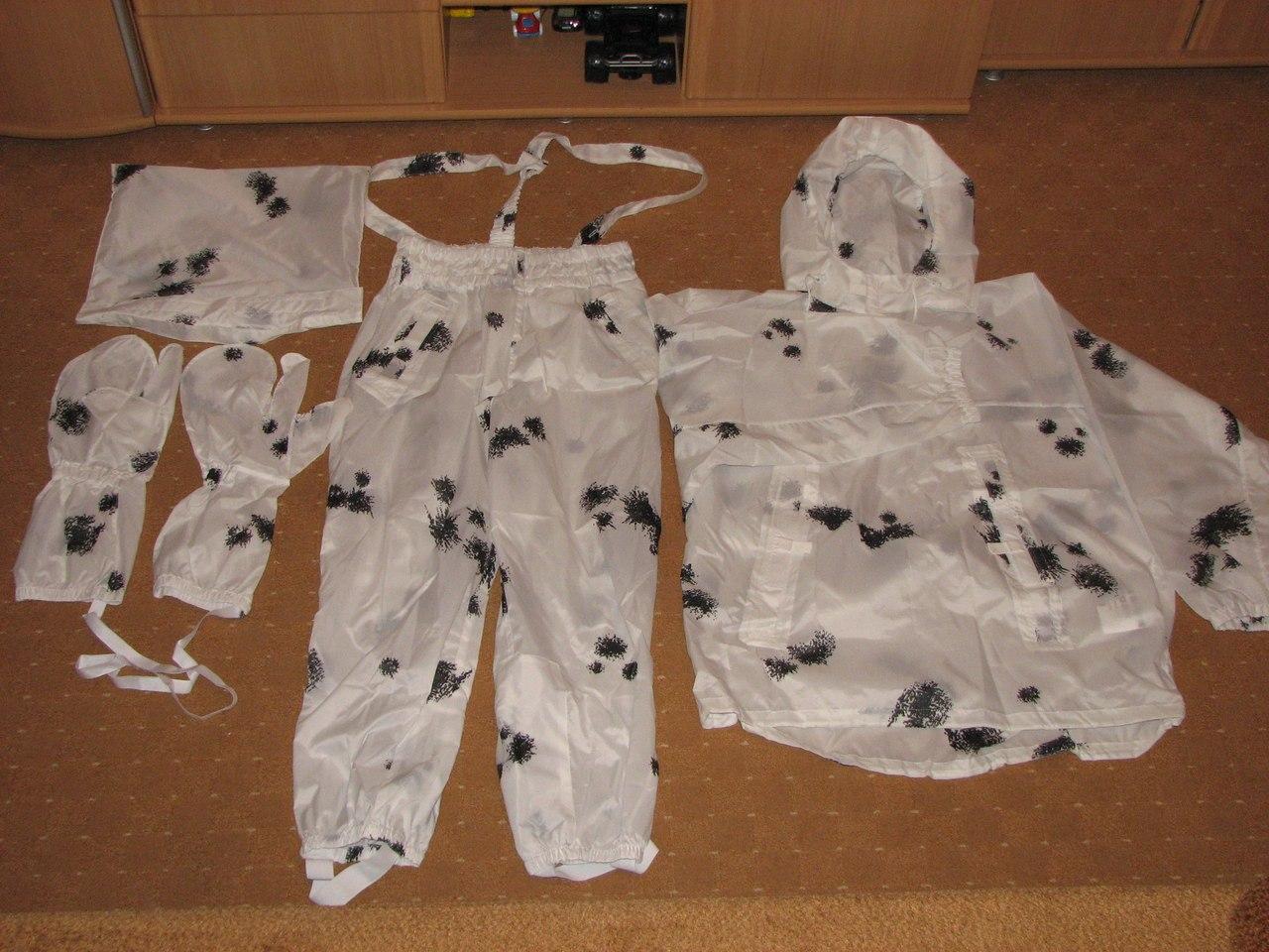 Зимний маскировочный костюм своими руками 35