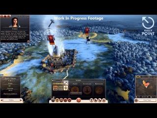 Rally Point 15 Спойлеры по кампании Свебов и События в Риме (Total War: Rome 2)