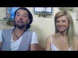 Интервью Дениса Клявера и Ирины Нельсон о съёмках видеоклипа на песню - Я за тебя молюсь