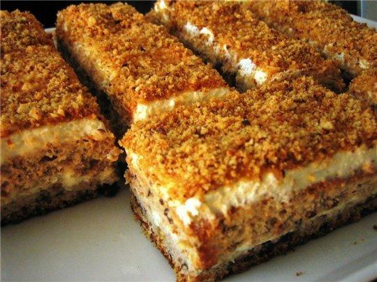 пирожное белочка очень нежные и пушистые пирожные! вкус изюма не чувствуется,а коржи за счет него очень рыхлые.что нужно: корж-2 яйца-полстакана сахара-100 г чёрного изюма (прокрутить через