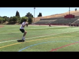 Nikita Zamora, Quarterback --- Danville, CA --- afternoon Passing Workout -- 05-27-13