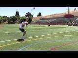 Nikita Zamora, Quarterback --- Danville, CA --- afternoon Passing Workout -- 05-27-13