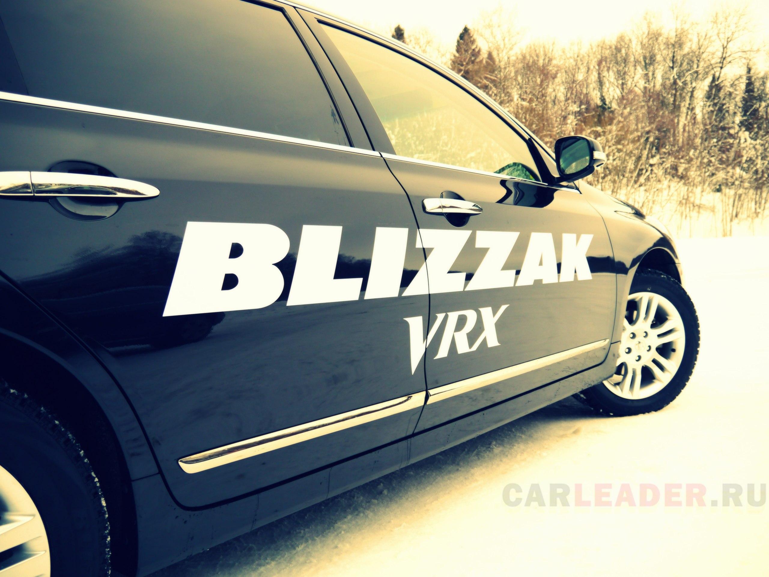 Blizzak VRX @ Nissan Teana
