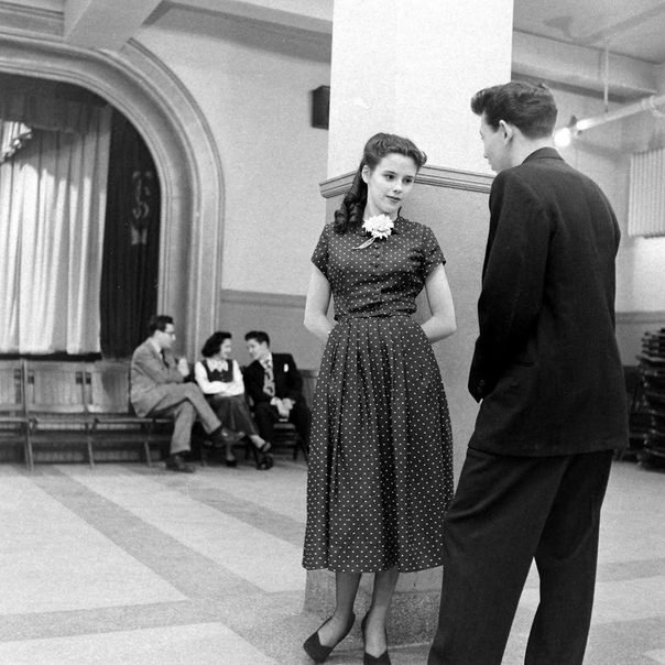 Красивые чёрно-белые снимки. США, 1949 г.